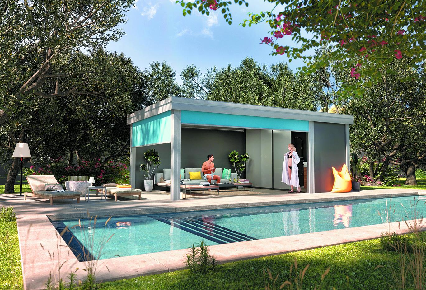 Un pool house Martigny