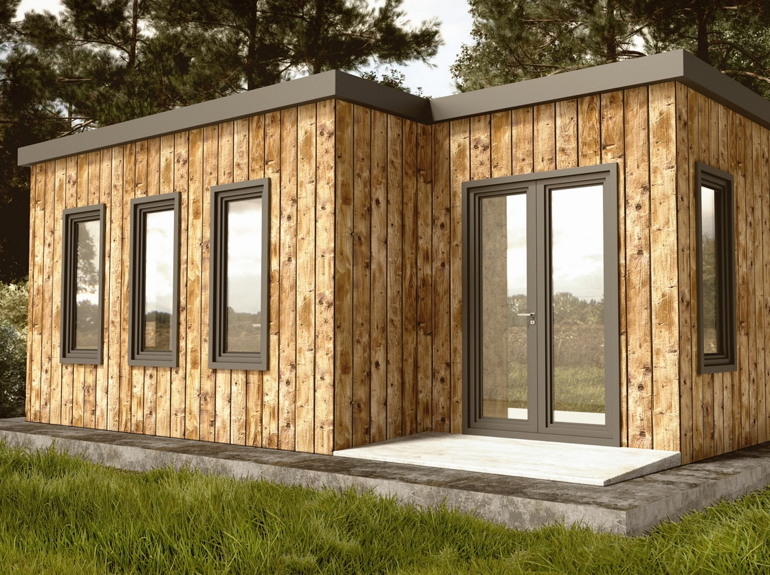 un studio de jardin en bois